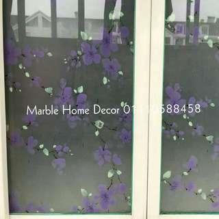 90cm x3m Glass tinted sticker mirror privacy