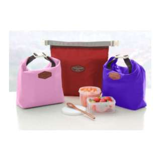 Iconic Insulated Lunch Bag Pouch tas bekal makan tahan panas - HHM077