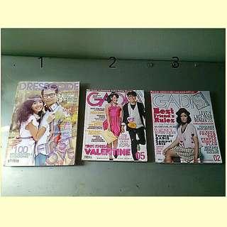 Majalah dresscode & gadis tahun 2011 & 2012