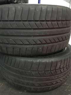 """18"""" Dunlop Sport Max tires"""