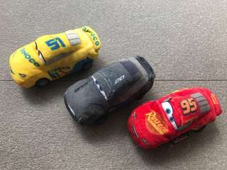 Cars 3 soft toy