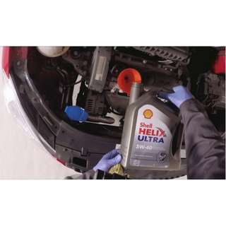 SHELL OIL SERVICE  - CAR GENERAL SERVICE