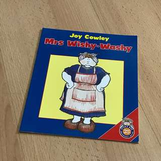 NEW Mrs Wishy-Washy Children's Storybook