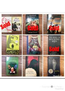 Animal Farm, To Kill A Mocking Bird and other story books
