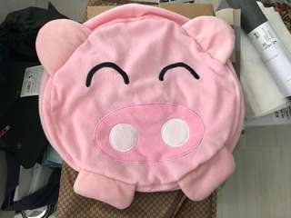 Pig inflatable stool
