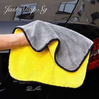 Bi-Colour Micro Fibre Car Polish and Cleaning Cloth