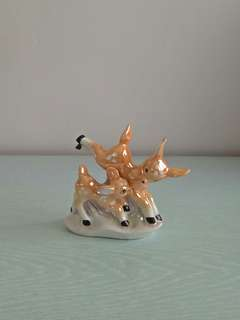 CR Porcelain Collection Deer Height 10cm perfect