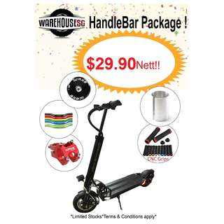 Wake Handlebar Package/ Speedway/Reaihub/Dyu/Dualtron/Escooter/Escoot/Handlebar