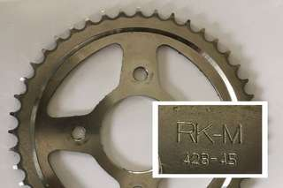 Sprocket RS150 Size 45-T (belakang)