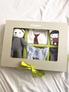 Kingkow baby boy's clothes gift set