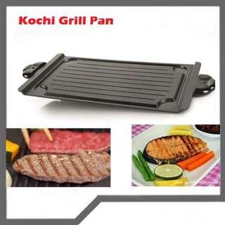 Multi grill pan/kochi grill pan alat panggang,bakar tanpa arang