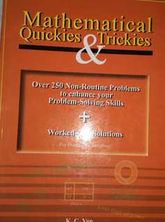 Mathematical Quickies and Trickies