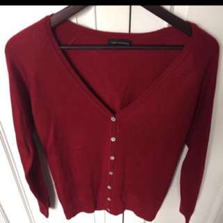 Red Sweater Size L