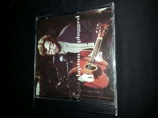 CD Eric Clapton. Unplugged