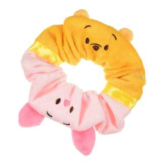 Japan Disneystore Disney Store Summer Fun 2018 Pooh & Piglet Scrunchie