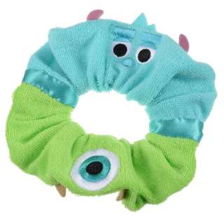 Japan Disneystore Disney Store Summer Fun 2018 Mike & Sulley Scrunchie