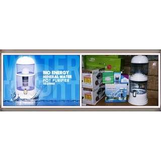 MINERAL POT 15 LITER Alat Penyaring Air Siap Minum Water Purifier Bio