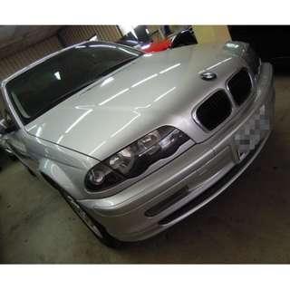 2001年 BMW寶馬 E46 318 進口車 外匯車 二手車 中古車