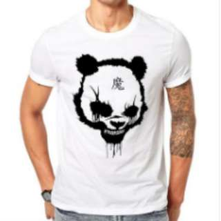 100% Cotton Demon Panda T-shirt