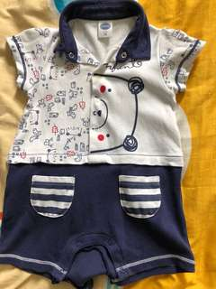 Baby Boy Clothes romper 3-6months old