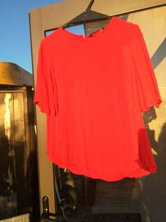 Size 8 -Glassons Red Top