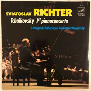 Tchaikovsky Piano Concerto 1 Richter & Mravinsky Melodiya 390001
