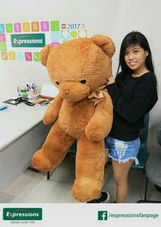 4FT TEDDY BEAR (RUSH!!)