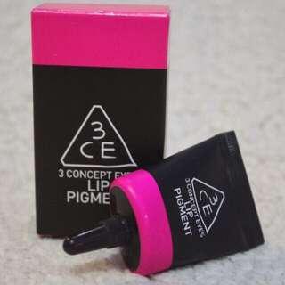 3ce lip pigment