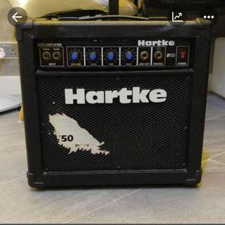 Hartke + Warick Bass Guitar Amplifier