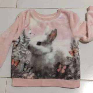 Brand New Pink Winter H&M TOP Size 2