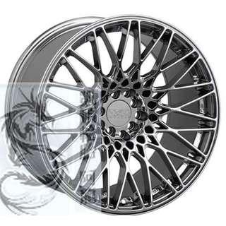 XXR 18吋 553 鈦銀色/平光黑 國際品牌鋁圈經典造型 心動完工價私訊確認