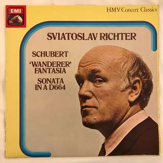 Schubert Piano Sonata Wanderer Fantasia D664 Richter EMI 30297