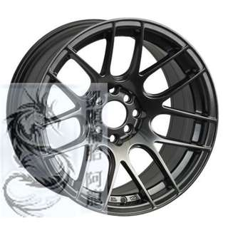 XXR 18吋 530 鈦色/平光黑/金色 國際品牌鋁圈經典造型 心動完工價私訊確認