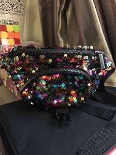 Skinnydip London Sequin Fannypack