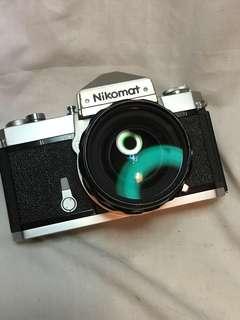 NIKON NIKOMAT FTN & 28mm F3.5