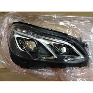 Mercedes Benz E-class W212 Facelift Headlamp With LED Original Left & Right Sided