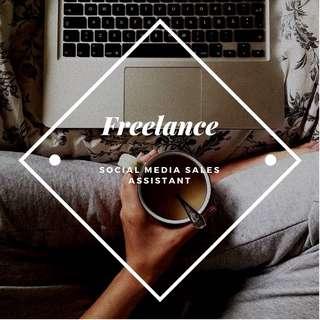 Freelance - Social Media Sales Assistant