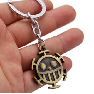 ONE PIECE KEYCHAIN TRAFALGAR D. WATER LAW KEY CHAIN