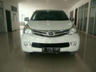 Toyota Avanza G AT 2013