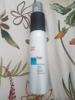 Wella Strong Control Curl Mousse