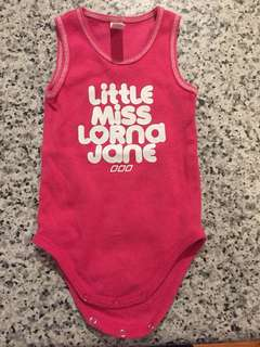 Lorna Jane little miss romper 00