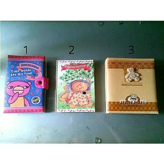 Buku notes A5 / agenda / binder / diary & album foto