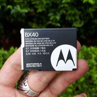 Baterai Motorola BX40 New Original SNN5805A RAZR2 V8 V9
