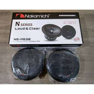 "NAKAMICHI N-SERIES LOUD & CLEAR  6.5"" MIDRANGE SPEAKER, N-POWER 30W"