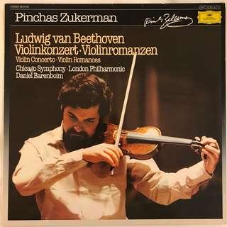 Beethoven Violin Concerto & Romances Pinchas Zukerman DG 2543520