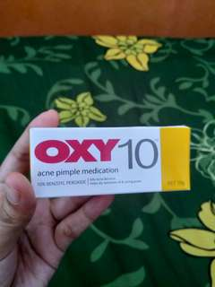Oxy 10 Acne  Medication