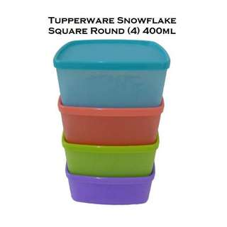 Tupperware Snowflakes