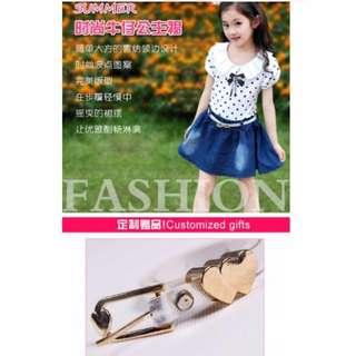 Kids Korean Dress Size 100