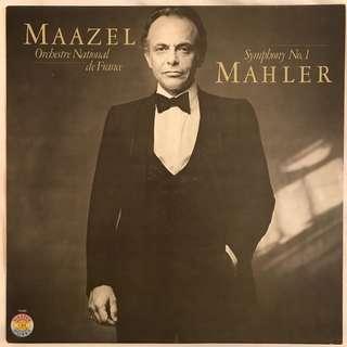 Mahler Symphony 1 Maazel CBS 76948