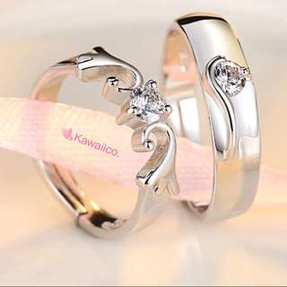 💎💎💎 Instock Couple Ring